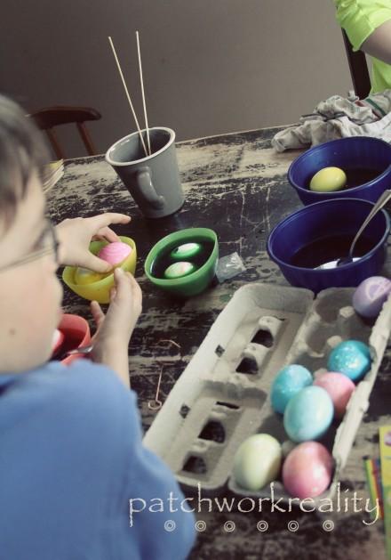 Egg dying 2013