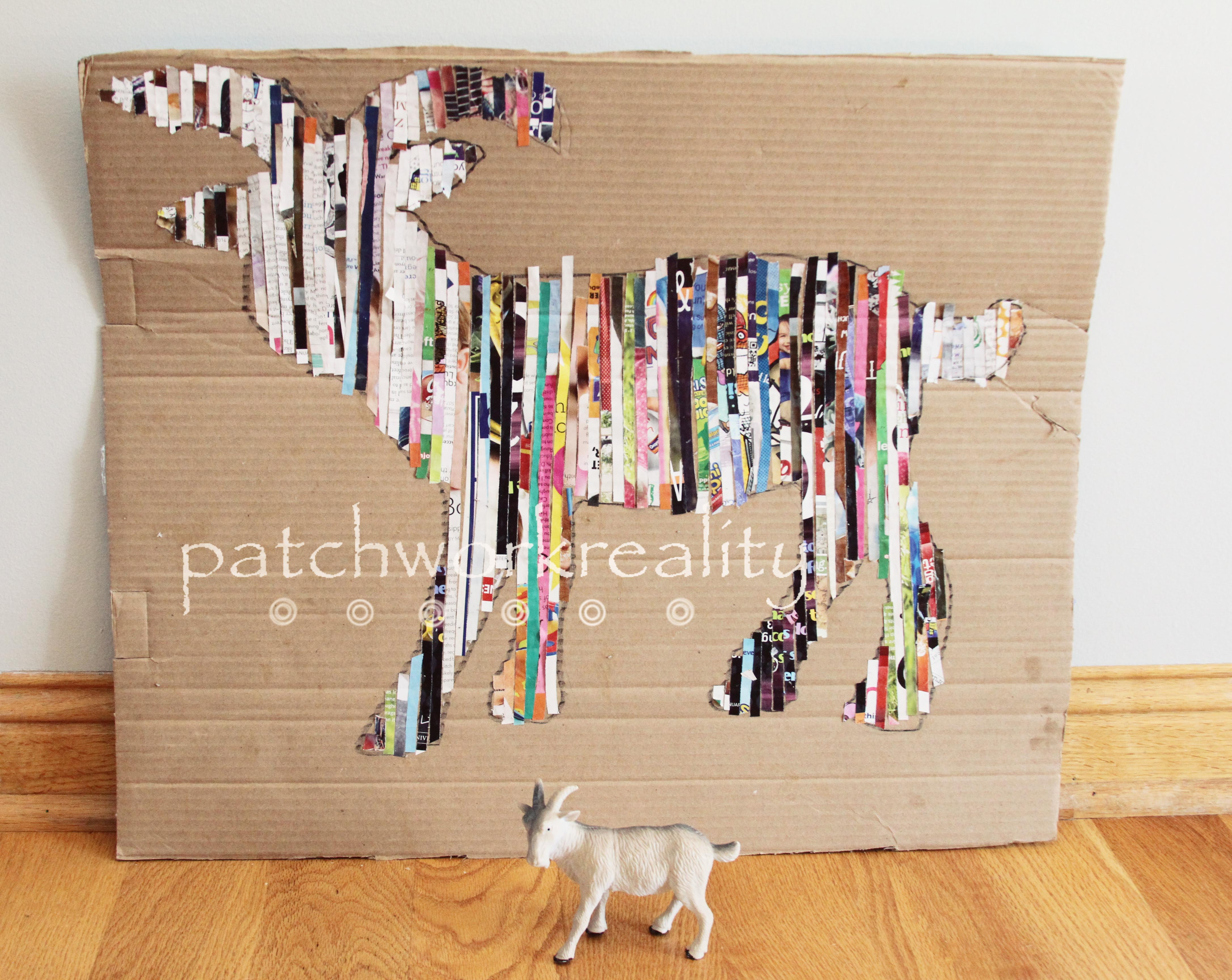 create patchwork reality